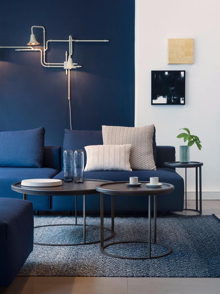 Create a modern blue living room without secrets it s so easy living room ideas - Secret keys contemporary living room design ...