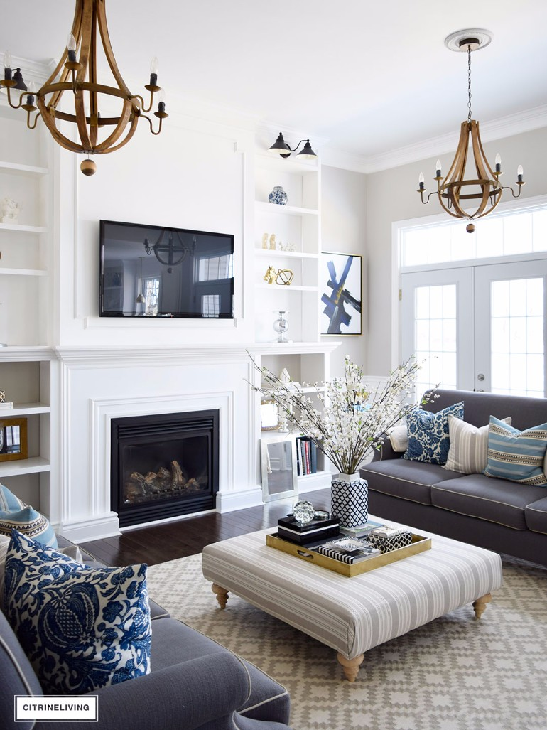 What\'s Hot on Pinterest:Warm Up W/ 6 Living Room Ideas With ...