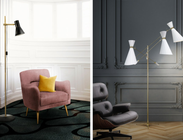 Living Room Decor: 5 Modern Floor Lamps That Will Make Your Heart Stop