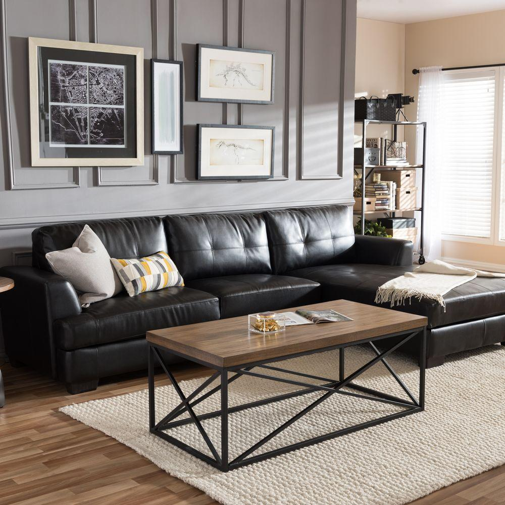 5 Black Leather Sofas, Or 'We Found What Your Living Room