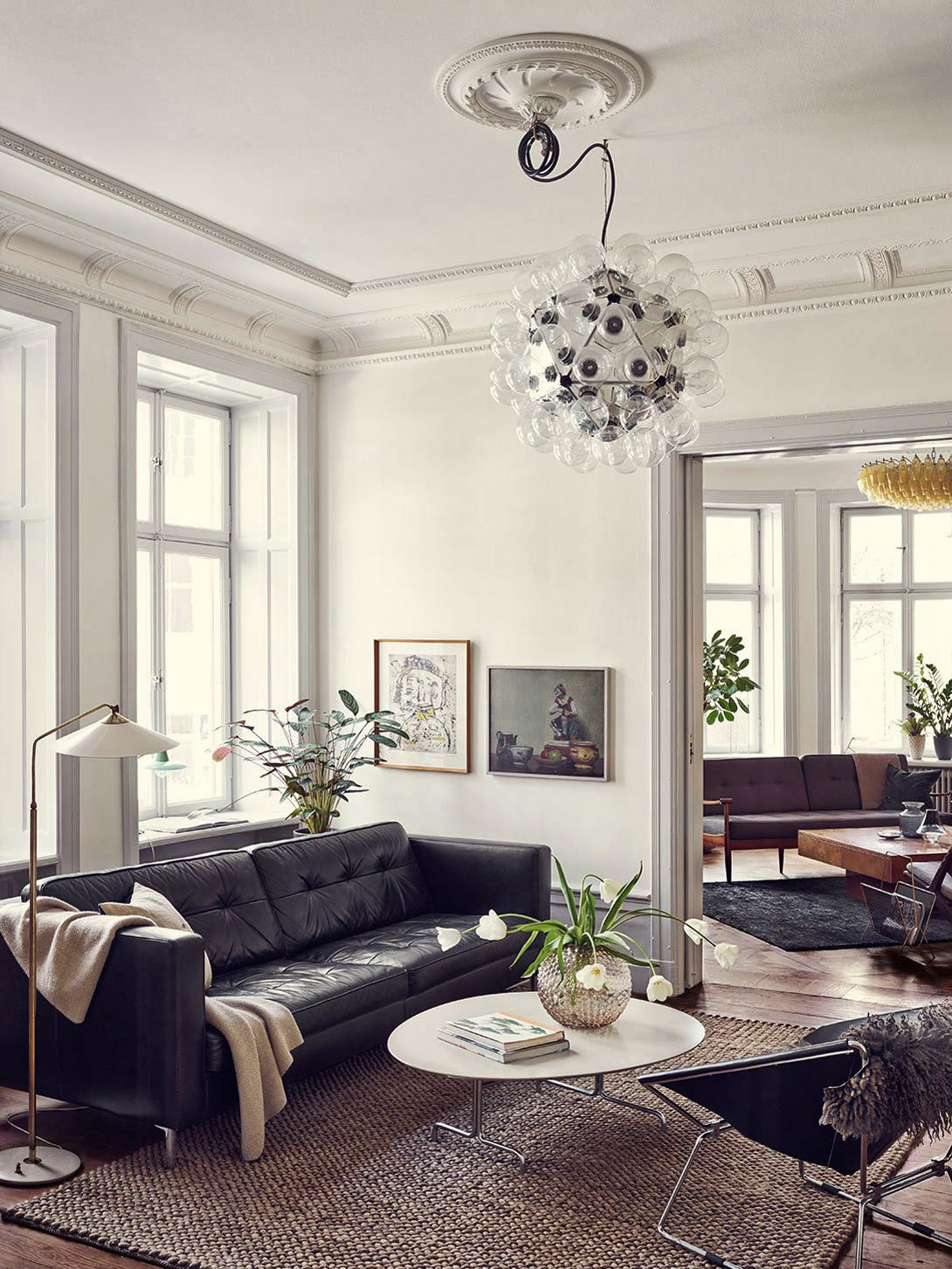 5 Black Leather Sofas, Or 'We Found What Your Living Room Was Missing'