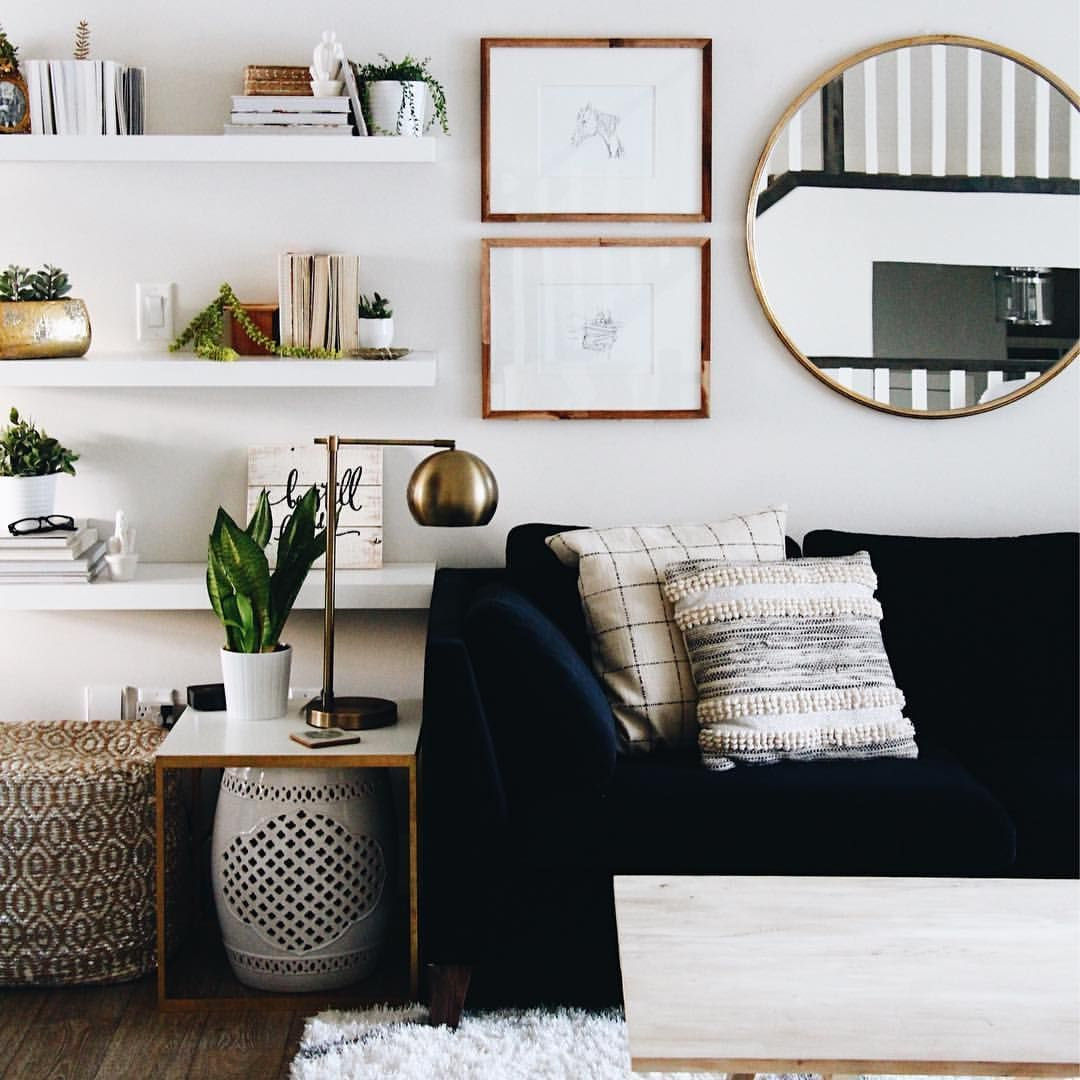 A Guide To Using Pinterest For Home Decor Ideas: How To Use Living Room Wall Mirrors The Right Way