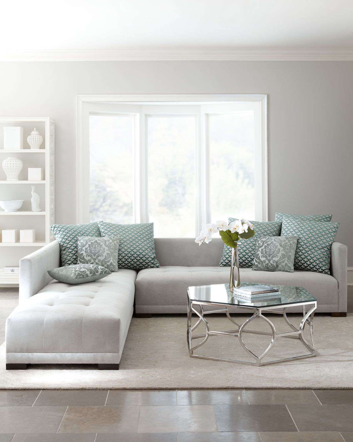 7 Ways To Use Duck Egg Blue Spruce Up Your Living Room Decor 1