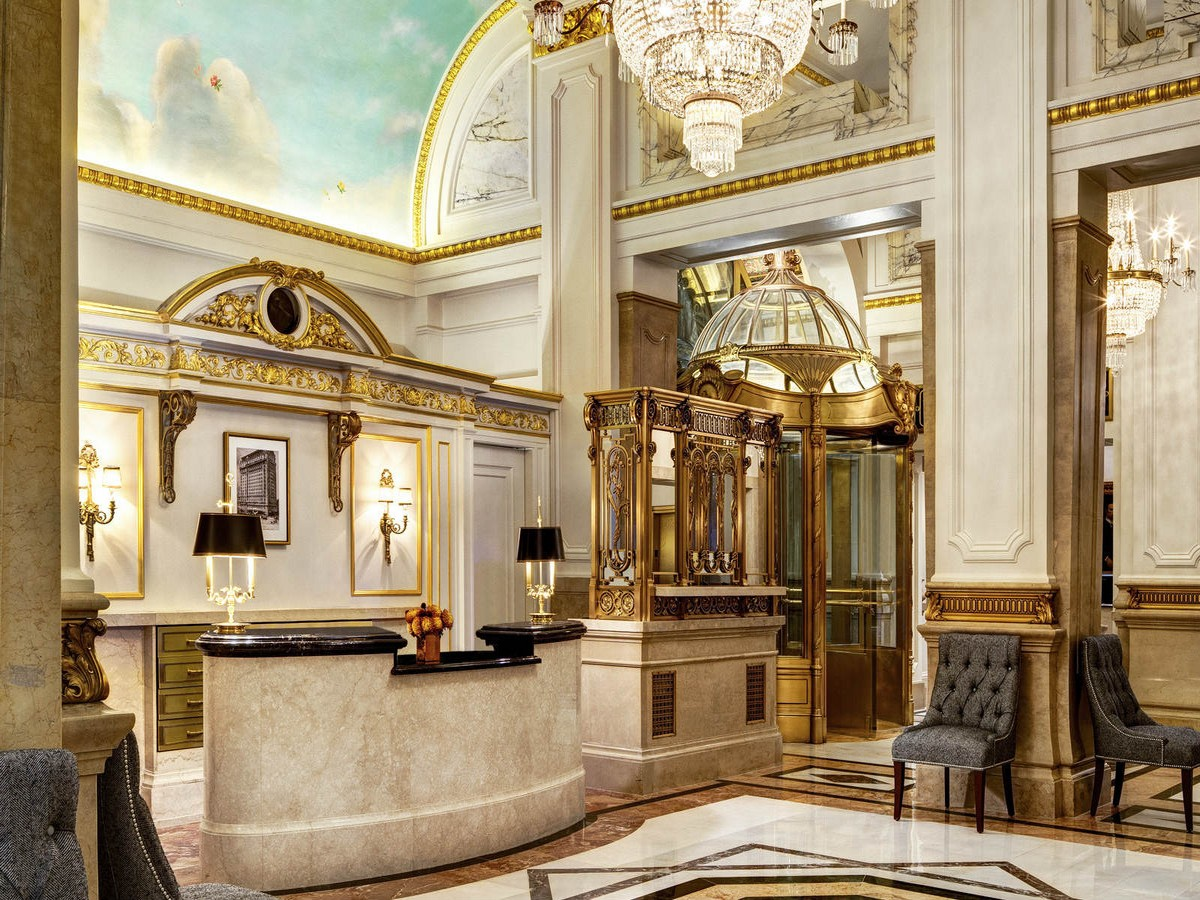The 10 Best Luxury Hotels In New York City luxury hotels The 10 Best Luxury Hotels In New York City str81lo 158764 Lobby