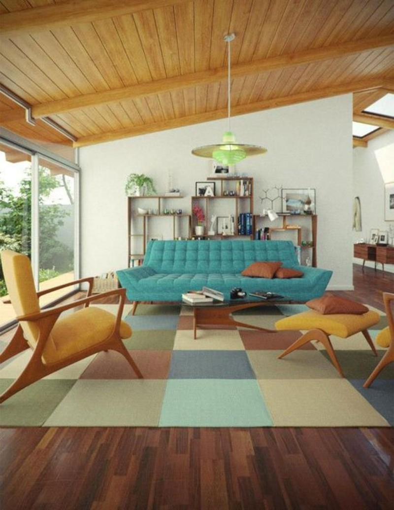 mid-century modern rugs, mid-century modern house, living room inspiration, mid-century modern homes, vintage living room mid-century modern rugs 8 Mid-Century Modern Rugs Your Living Room Needs 8 Mid Century Modern Rugs Your Living Room Needs 5