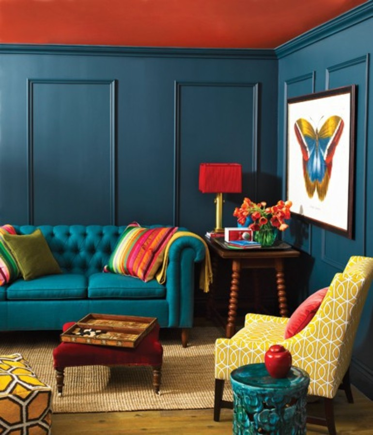 Turquoise Living Room Inspiration: The Best Color To Use This August turquoise living room inspiration Turquoise Living Room Inspiration: The Best Color To Use This August 111 bright and colorful living room design ideas digsdigs pertaining to red and turquoise living room regarding really encourage