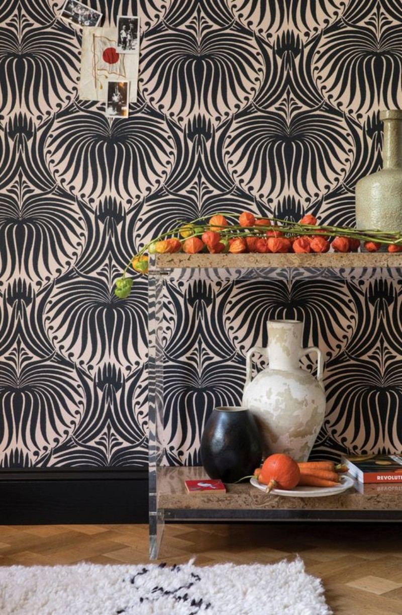 Living Room Corners Patterned Wallpapers You Will Fall In Love With patterned wallpapers Living Room Corners: Patterned Wallpapers You Will Fall In Love With Living Room Corners Patterned Wallpapers You Will Fall In Love With 4