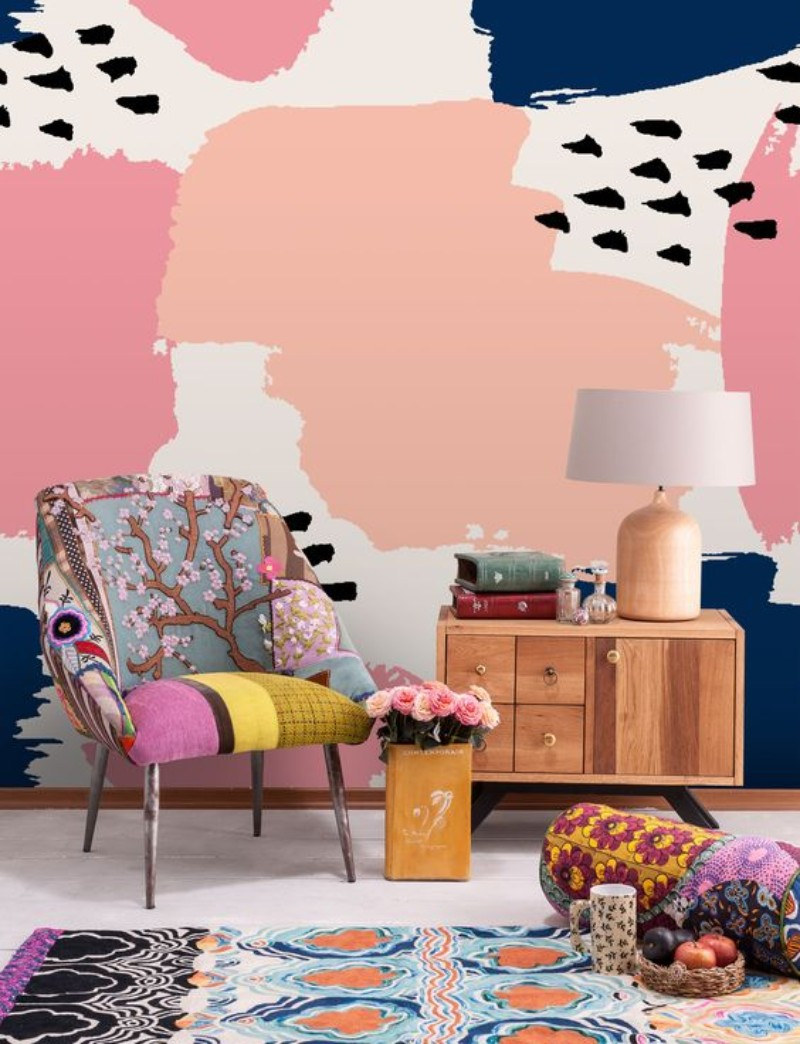 Living Room Corners Patterned Wallpapers You Will Fall In Love With patterned wallpapers Living Room Corners: Patterned Wallpapers You Will Fall In Love With Living Room Corners Patterned Wallpapers You Will Fall In Love With 5