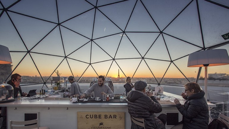 Rooftop Bars In Paris To Overlook The City While Enjoying A Cocktail