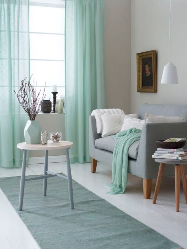 Turquoise Living Room Inspiration: The Best Color To Use This August
