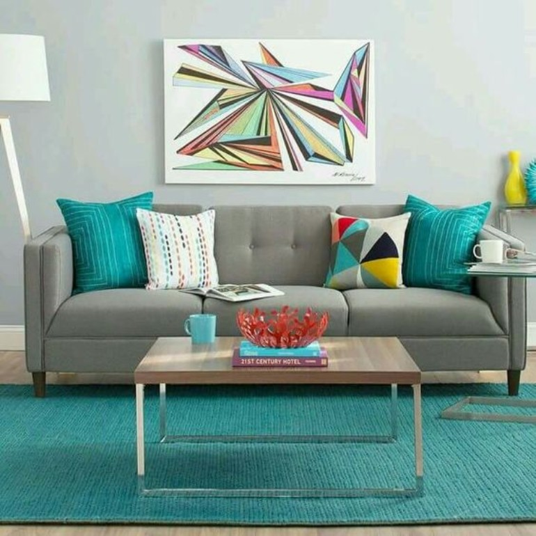 Turquoise Living Room Inspiration: The Best Color To Use This August turquoise living room inspiration Turquoise Living Room Inspiration: The Best Color To Use This August fa7eeeb9297a15c4517161339acb785d 1