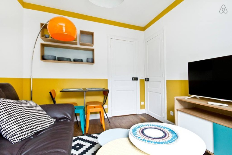 Across The Globe: A Small Colorful Apartment In Paris You Need To See across the globe Across The Globe: A Small Colorful Apartment In Paris You Need To See Across The Globe A Small Colorful Apartment In Paris You Need To See 3