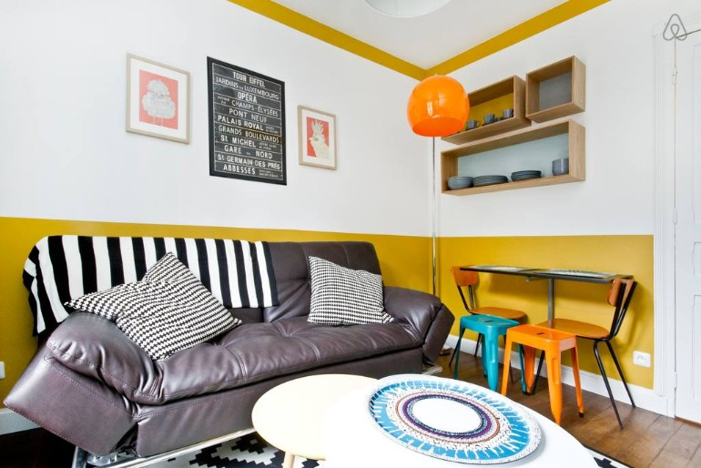 Across The Globe: A Small Colorful Apartment In Paris You Need To See across the globe Across The Globe: A Small Colorful Apartment In Paris You Need To See Across The Globe A Small Colorful Apartment In Paris You Need To See 5
