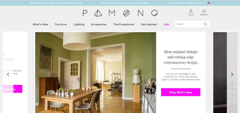 Pamono: A Unique Place To Find Distinctive Design Pieces pamono Pamono: A Unique Place To Find Distinctive Design Pieces Capturar 1