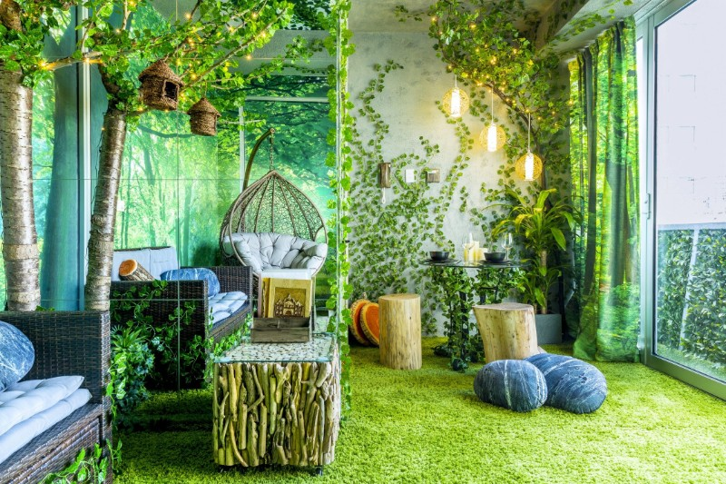 Across The Globe: A Stunning Forest Themed Apartment In Melbourne across the globe Across The Globe: A Stunning Forest Themed Apartment In Melbourne Across The Globe A Stunning Forest Themed Apartment In Melbourne 1