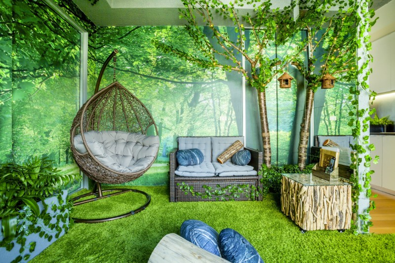 Across The Globe: A Stunning Forest Themed Apartment In Melbourne across the globe Across The Globe: A Stunning Forest Themed Apartment In Melbourne Across The Globe A Stunning Forest Themed Apartment In Melbourne 2