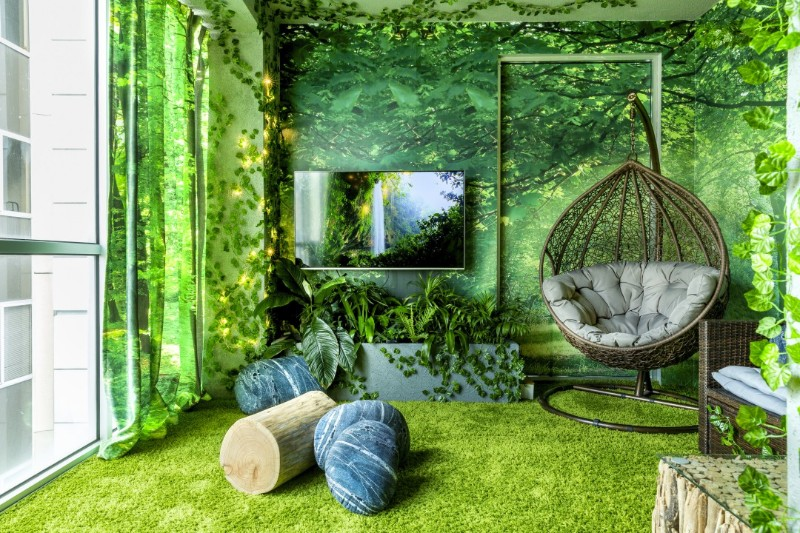 across the globe Across The Globe: A Stunning Forest Themed Apartment In Melbourne Across The Globe A Stunning Forest Themed Apartment In Melbourne 3