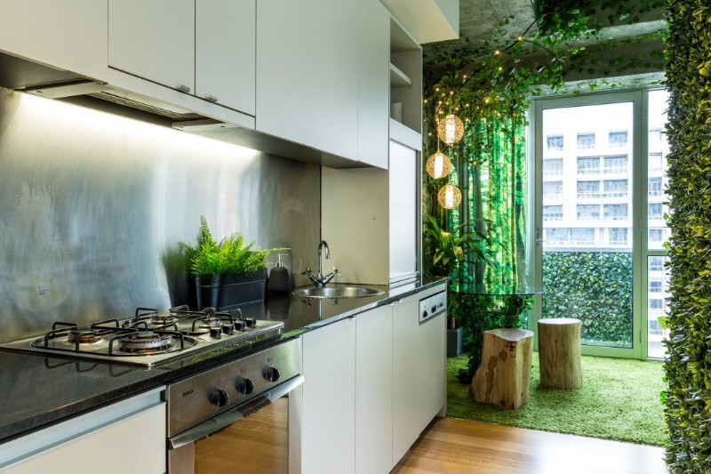 across the globe Across The Globe: A Stunning Forest Themed Apartment In Melbourne Across The Globe A Stunning Forest Themed Apartment In Melbourne 4