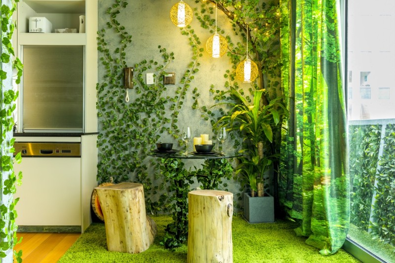across the globe Across The Globe: A Stunning Forest Themed Apartment In Melbourne Across The Globe A Stunning Forest Themed Apartment In Melbourne 8