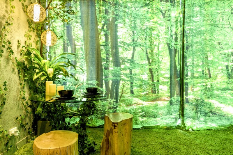 across the globe Across The Globe: A Stunning Forest Themed Apartment In Melbourne Across The Globe A Stunning Forest Themed Apartment In Melbourne 9