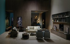 GET A LUXURY LIVING ROOM WITH GOLDEN LIGHTING matheny suspension lamp