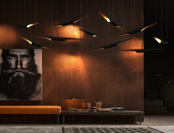 living room ideas Lighting Fixtures for your Living Room Ideas 10 graceful living room ideas with copper details 600x460
