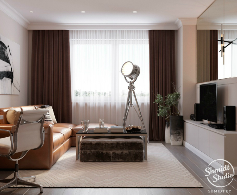 Modern Living Room Ideas By Shmidt Studio