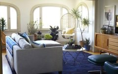Living Room Inspiration: LA Bungalow Perfect for the Season