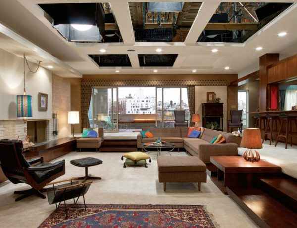Re-create Some of the Most Iconic TV Living Rooms living rooms Re-create Some of the Most Iconic TV Living Rooms mad men living room feat 600x460