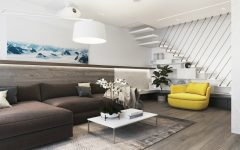 Living Room Inspiration: Contemporary House Design in Moscow