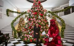 Kris Jenner's Winter Wonderland Christmas Decor