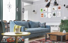 Living Room Inspiration: Scandinavian Living Room in Azerbaijan