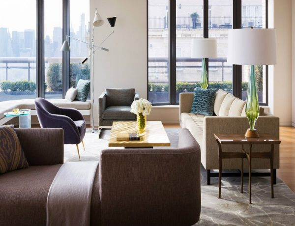 modern living room Discover Steven Harris' Modern Living Room in Central Park West Discover Steven Harris    Modern Home in Central Park West 2 600x460