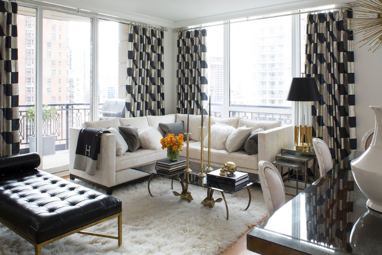 Living Room Fur Rugs To Elevate Your Interior Design 1
