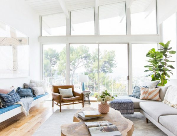 Emily Henderson is Selling Her House with A Mid-Century Living Room FEAT mid-century living room Emily Henderson is Selling Her House with a Mid-Century Living Room Emily Henderson is Selling Her House with A Mid Century Living Room FEAT 600x460