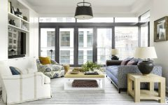 Living Room Inspiration Manhattan Apartment Filled with Pattern feat