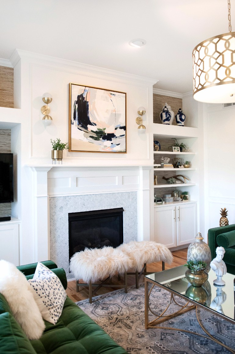 Living Rooms With Cozy Fireplaces