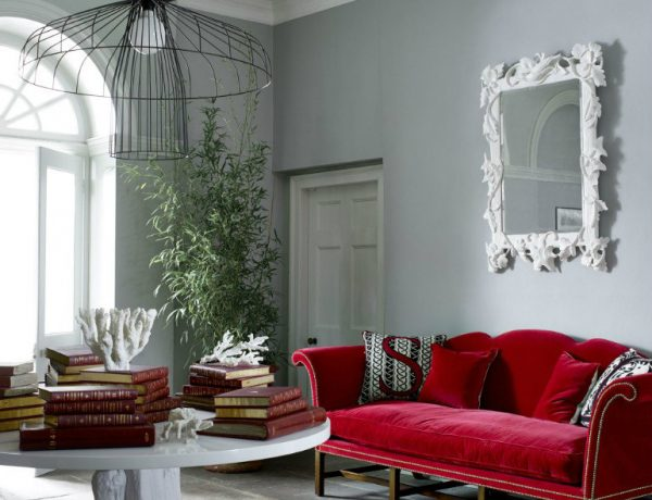 living rooms 10 Gorgeous Red Accent Living Rooms capa 10 600x460