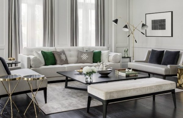 Discover This Luxury Living Room In Dubai