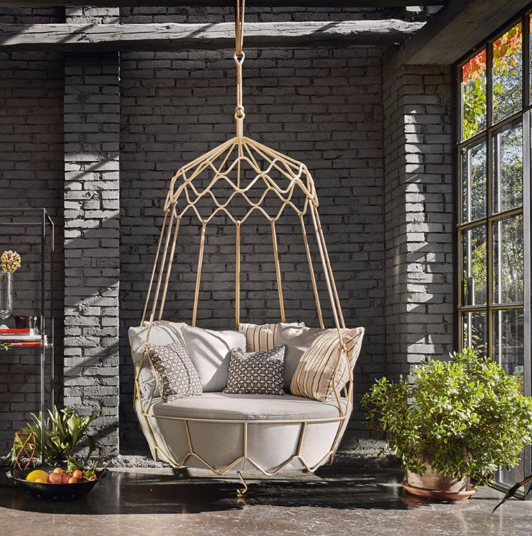 Fascinating Swing Chairs Ideas For Your Living Room