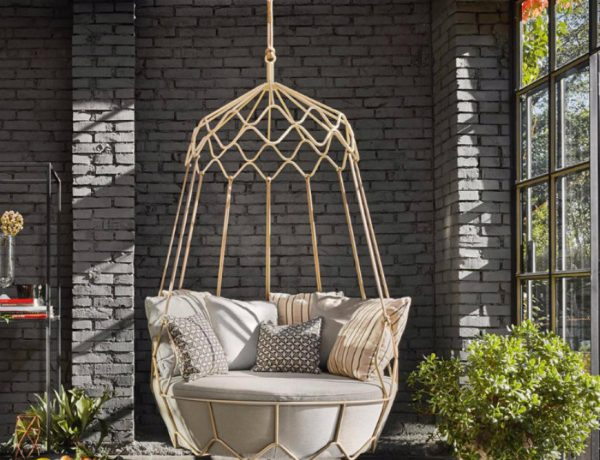 living room Fascinating Swing Chairs Ideas For Your Living Room capa 12 600x460