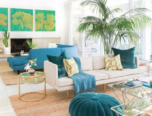 Scrumptious Turquoise Living Room Ideas capa 14 600x460
