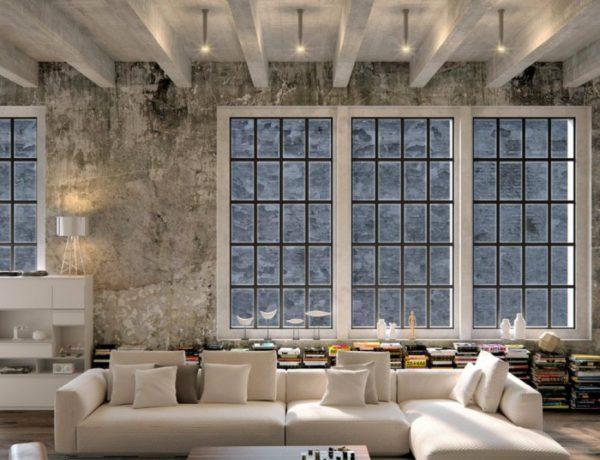 Industrial Living Rooms Beautiful Industrial Living Rooms capa 26 600x460