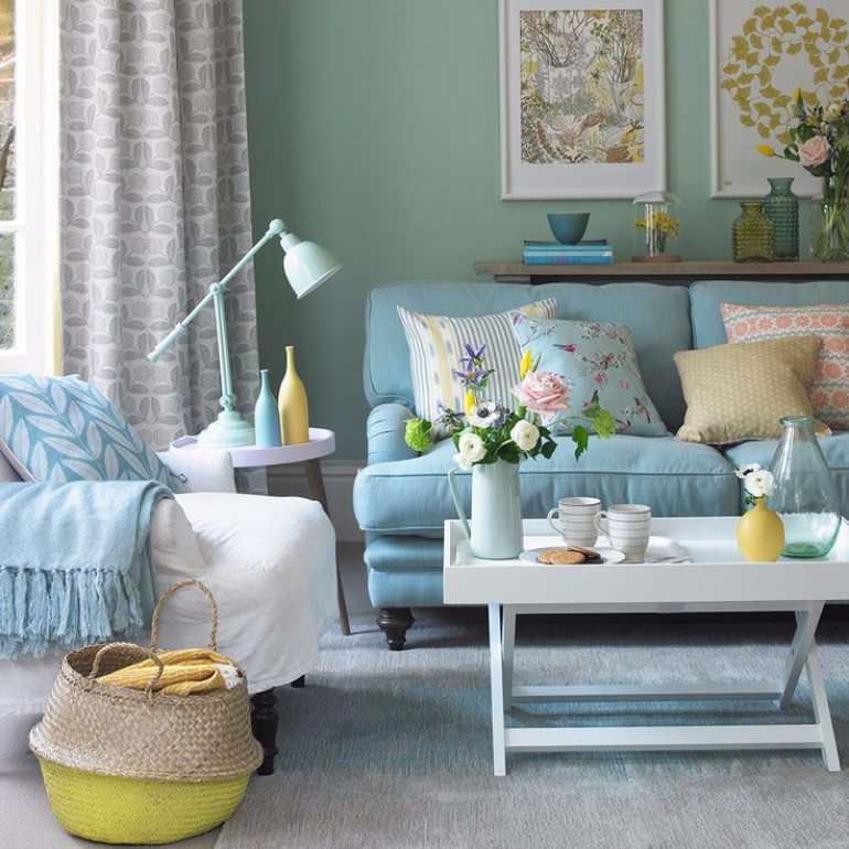 duck egg living room inspiration mood board duck egg living room ideas for your home 20144