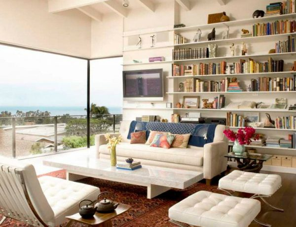 mid-century modern living rooms 10 Mid-Century Modern Living Rooms That Prove The Style is Timeless CAPA 2 600x460