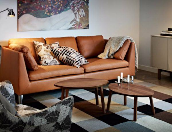 brown sofa Chic Ways To Style A Brown Sofa In Your Living Room capa 11 600x460