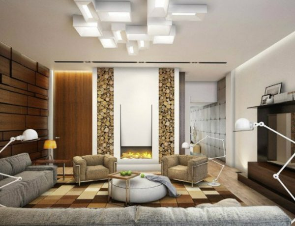 Living Room Inspiration Living Room Inspiration: A Suburban House Living Room capa 16 600x460