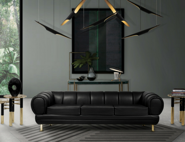 Get To Know Everything About This Black Living Room Decor