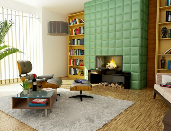 Mid Century Modern Rugs Living Room Ideas