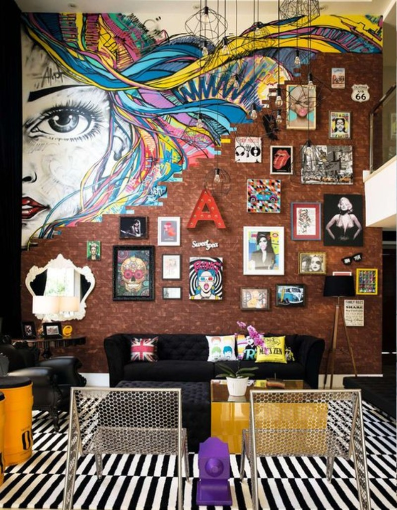 A Quick Guide On How To Add Pop Art References Your Living Room